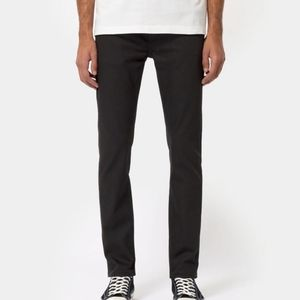 nudie jeans co. thin finn in dry cold black